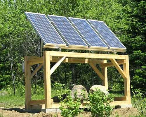 تامین توان پمپ آب خورشیدی توسط پانل خورشیدی