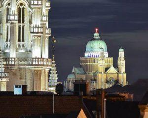 نورپردازی نمای ساختمان های مذهبی و بناهای تاریخی