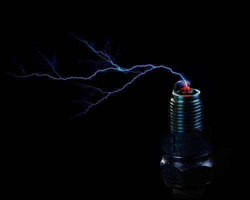 جرقه در الکترود