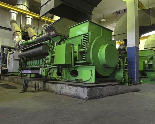 موتور برق دیزلی با قابلیت دو ژنراتوری