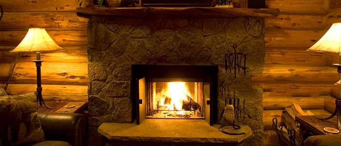 گرم کردن محیط و ایجاد فضایی آرامشبخش توسط شومینه
