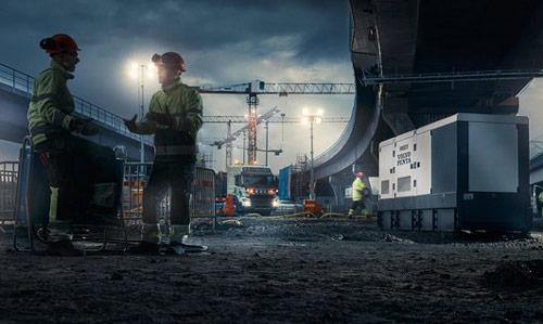 دیزل ژنراتور با قطعات یدکی اصلی شرکت ولوو آلمان