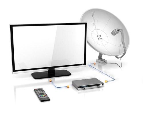 سیگنال ها را دریافت و از طریق کابل تلویزیون به تلویزیون ها های داخل آنتن مرکزی ارسال می کنند
