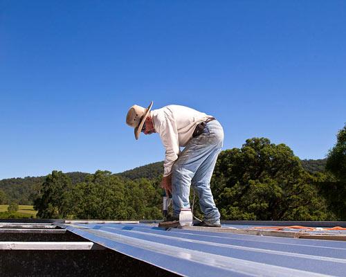 نحوه اجرای سقف عرشه فولادی و نصب گل میخ