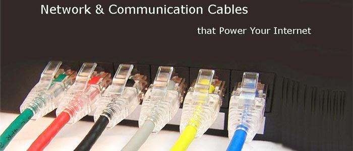 سرعت کابل شبکه و سرعت آن بسته به تجهیزات ورنگ سیم بستگی دارد.