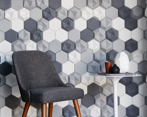 دیوار پوش سه بعدی بتنی به عنوان دیوارپوش دکوراتیو