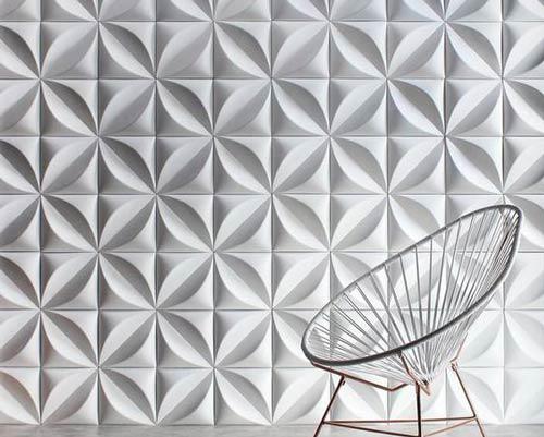 پانل بتنی دیوارپوش سه بعدی بتنی