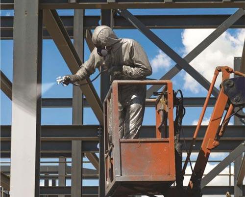 اجرای پوشش رنگ نانو به عنوان پوشش ضد حریق سازه های فلزی