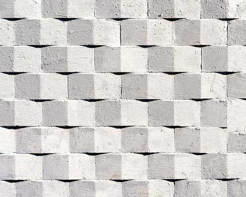 سنگ بتن به کار رفته در پوشش بتنی دیوار دیوارپوش رنگی بتنی