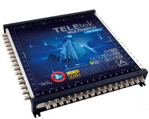از طریق آنتن دریافت توسط پیش تقویت کننده سیگنال را به حد مورد نظر می رسانر ارسال به سویچ تقویت کننده و ارسال به تقسیم کننده ها وبعد تلویزیون.