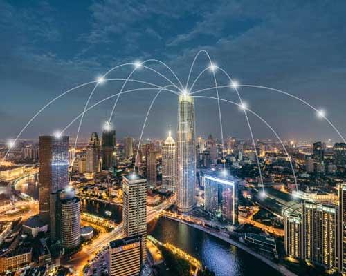 در شبکه CAN با توجه به زیر ساخت های شبکه و انتقال فایل می توان چند ساختمان را از یک محل مدیریت و کنترل کرد