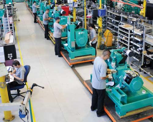 کارخانه اصلی تولید موتور های دیزلی و گازی کامینز