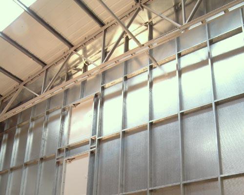 استفاده از پنل ضد حریق برای محافظت سازه فلزی در برابر آتش