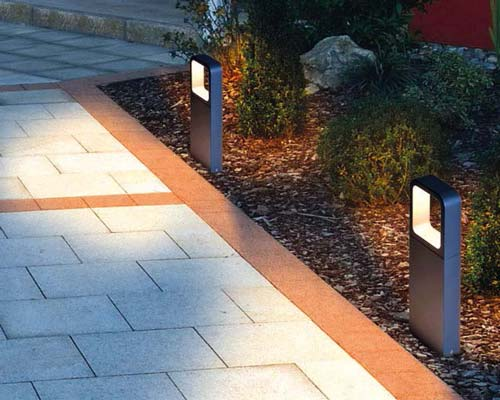 چراغ های ال ای دی برند RZB پاکی یا حیاطی یا باغچه ای