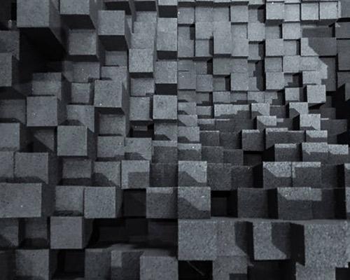 در حال دیدن دیوار پوششی سه بعدی می باشد