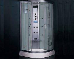 کابین بخار ازانواع مدرن کابین دور دوش با تجهیزات اضافی