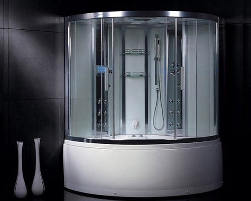 کابین پیش ساخته دوش با تجهیزات اضافی از انواع مدرن کابین حمام