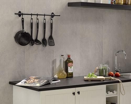 کاربرد دیوار پوش پی وی سی در تمامی فضا ها مانند آشپزخانه