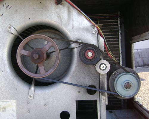 فن سانتریفیوژ الکتروموتور