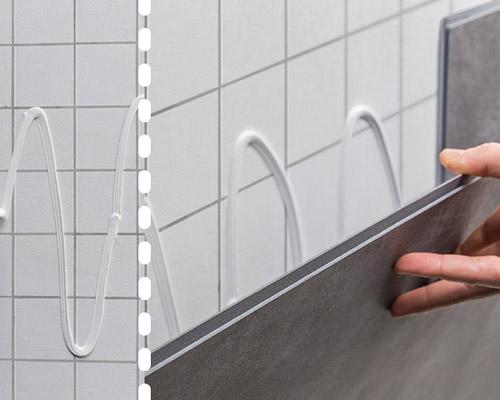 نصب ساده و مستقیم پنل های دیوارپوش پی وی سی روی انواع سطوح با چسب
