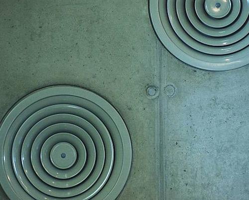 دریچه ی خروجی هوای مطبوع دایره ای شکل