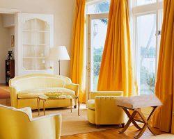 طراحی و نصب انواع پرده پنجره تزئینی در دکوراسیون داخلی