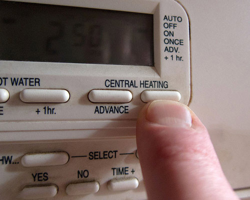 ترموستات دیجیتال سیستم گرمایش مرکزی