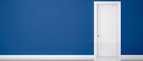 درب مدرن لولایی از انواع درب داخلی ساختمان