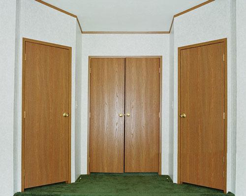 تنوع زیاد چوب در کاربرد در درب داخلی ساختمان