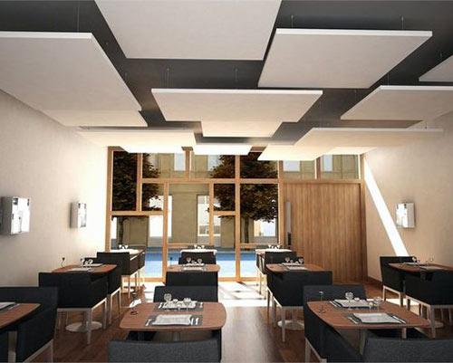 اجرای عایق صدا در سقف برای جلوگیری از نفوذ صدا و ضربه از طبقه بالا