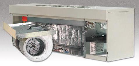محفظه اجزای تشکیل دهنده دستگاه فن سقفی