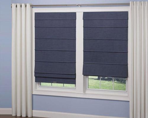 پرده شیدرول کرکره ای قابل نصب برای هر لنگه از پنجره به صورت جداگانه