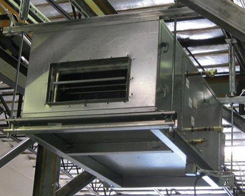 دستگاه تهویه سقفی توکار کانالی