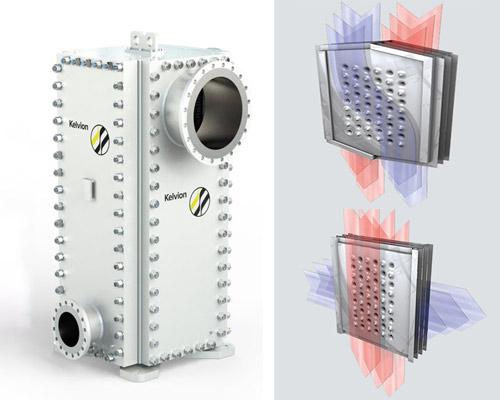 انتقالگر گرمای جوشکاری شده Kelvion