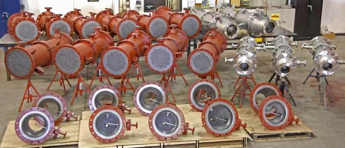 انواع مبدل حرارتی تانتالیوم با پاشنده توپی