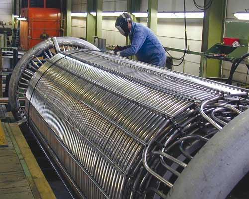 فرآیند ساخت Coiled Tube صنعتی بر ای مبدل حرارتی پوسته لوله