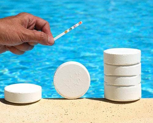 قرص کلر اندازه گیری ph آب استخر