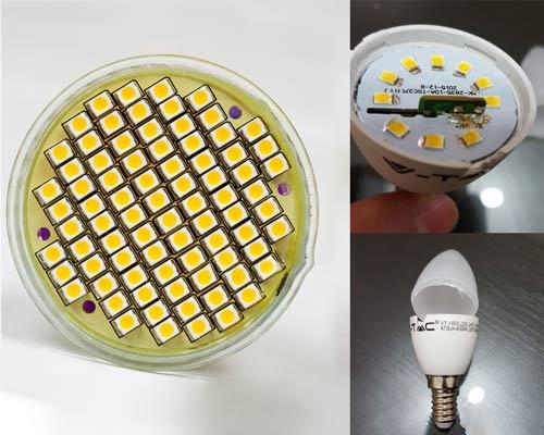 چراغ SMD لوستر حباب