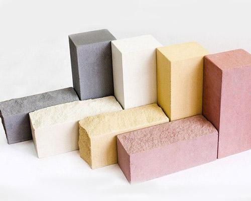 سطح صاف و تنوع رنگ آجر سیلیکات کلسیم