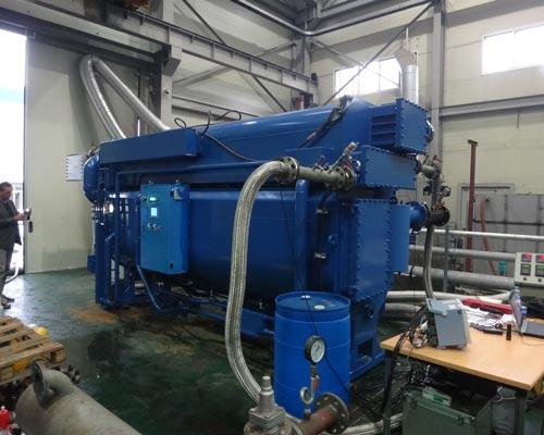طرز کار چیلر جذبی مدل کارخانه آبی فشارسنج