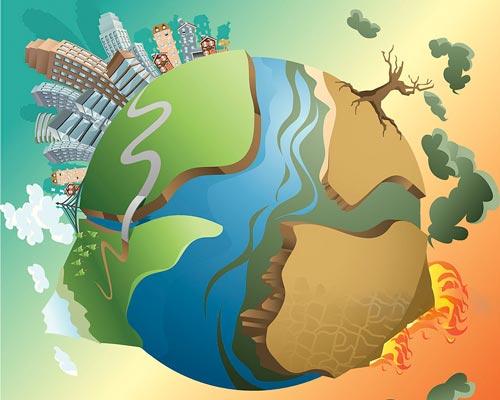 کره زمین در حال مرگ