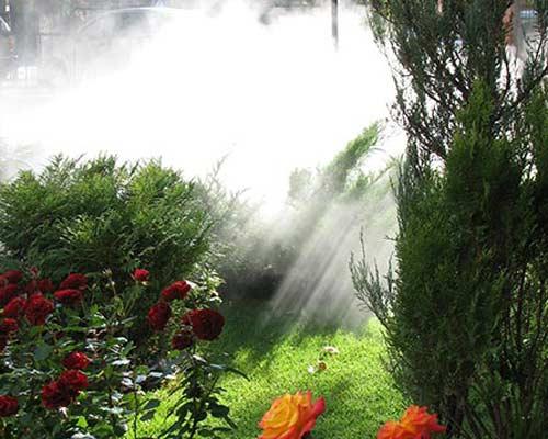 مه پاش فضای باغ