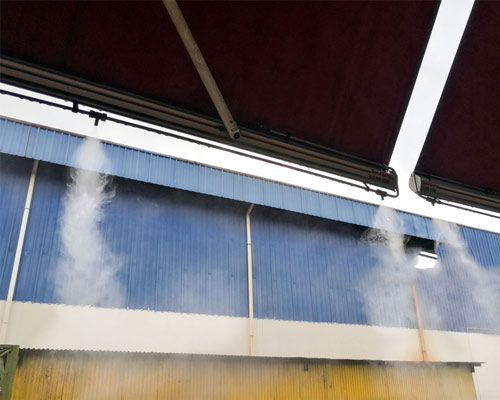 مه پاش صنعتی فشار قوی