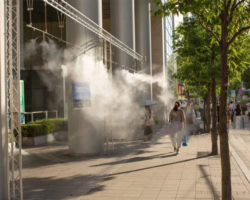 مه پاش تجاری فضای باز