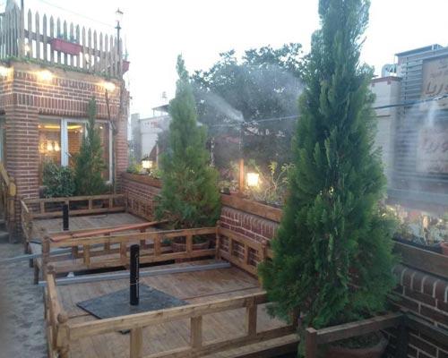 نمونه مه پاش کافه رستوران