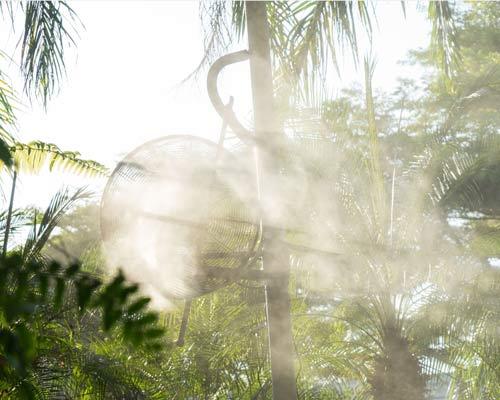 مه پاش پنکه ای جهت گلخانه