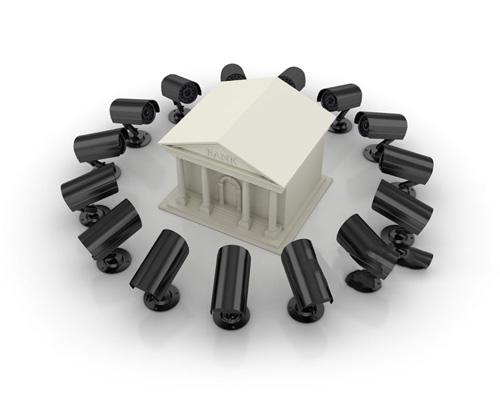 دوربين مدار بسته بولت براي محافظت از مکان هاي امنيتي مانند بانک