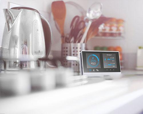 کنترل رطوبت با ترموستات وای فای هوشمند روی میز