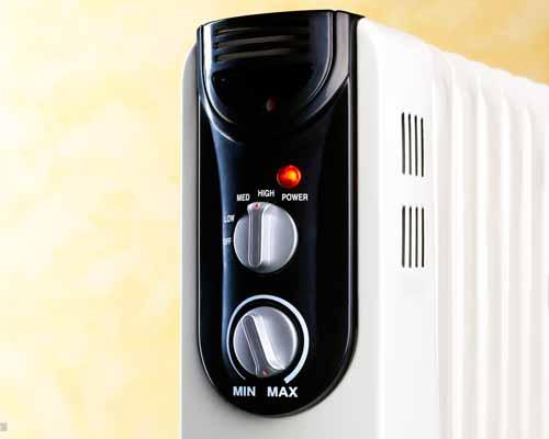 درجه تنظیم حرارت بخاری برقی