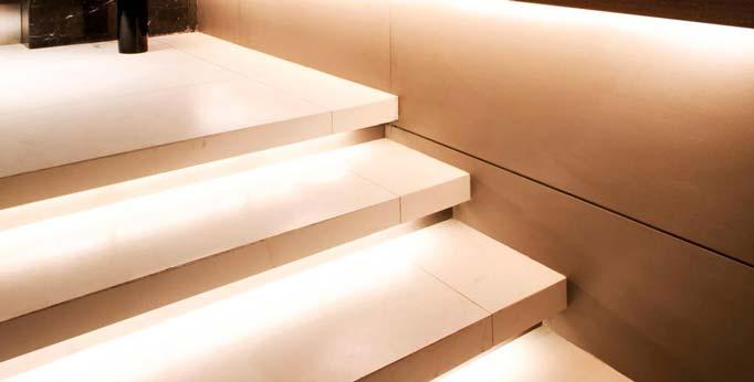 نور پردازي راه پله